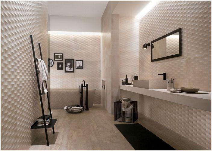 Idealne rozwiązanie do dekoracji ścian jasnymi kolorami od Ceramiche Fap.