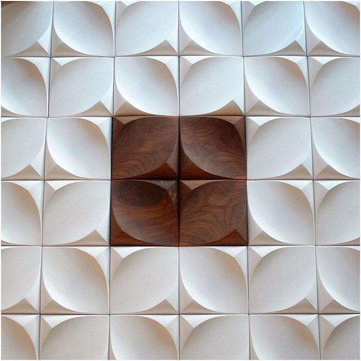 Świetna opcja na połączenie betonu i drewna, coś, co stworzy magię w każdym pomieszczeniu.