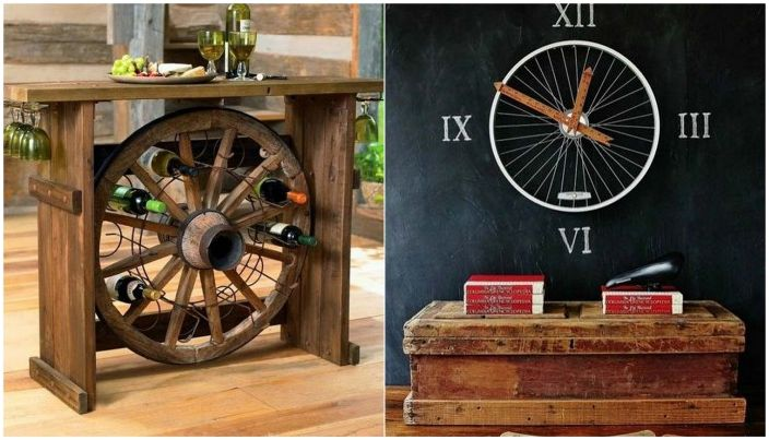 Страхотни приложения за колелото в домашния декор.
