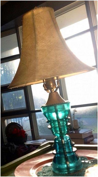 Интересно препрофилиране на стара лампа, която ще изпълни всеки интериор с вълшебна атмосфера.