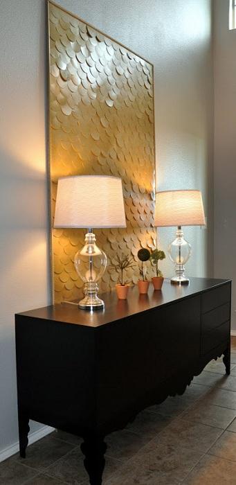 Интересна декорация на стени за стая