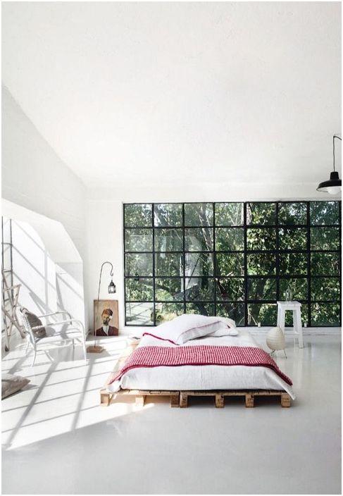 Перфектен дизайн на леглото, една от най-добрите опции за модерен декор на спалнята.