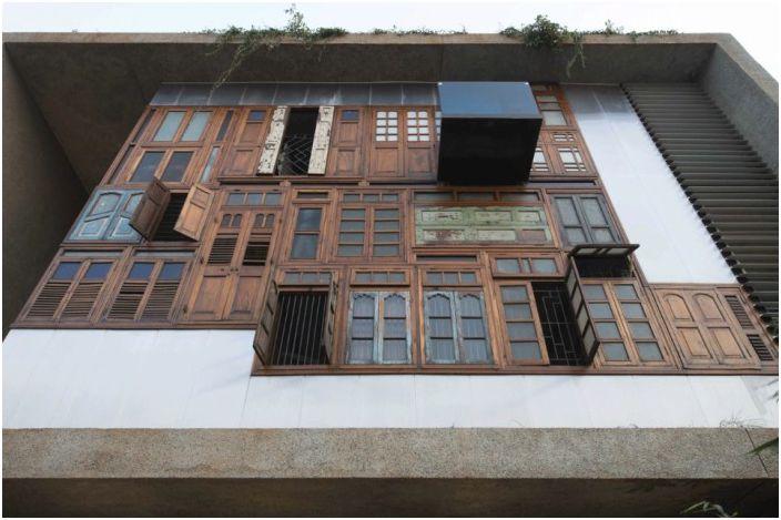 Projekt architektoniczny indyjskiej firmy S + PS Architects.