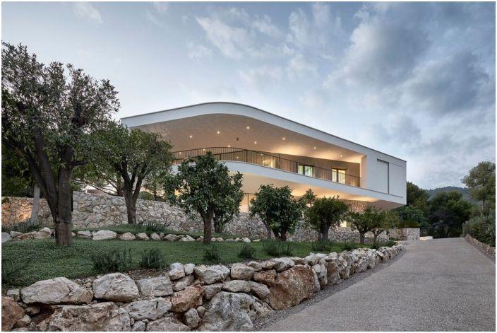 Projekt architektoniczny firm A2CM i Ceschia e Mentil Architetti Associati.