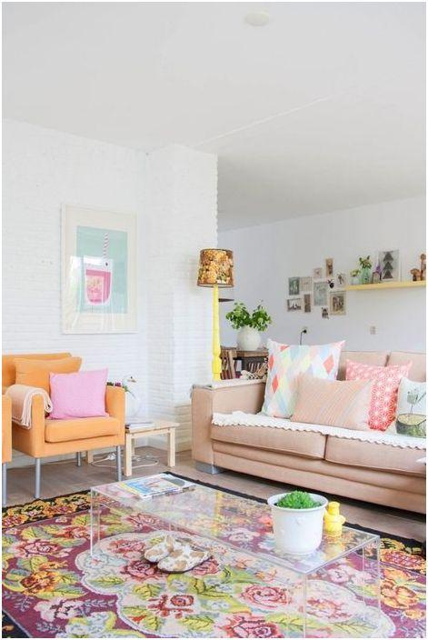 Цветове за пролетен интериор