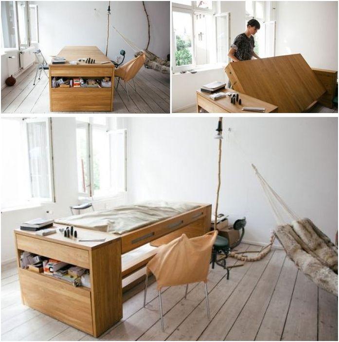 Łóżko stół