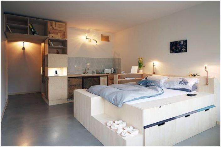 Sypialnia-jadalnia