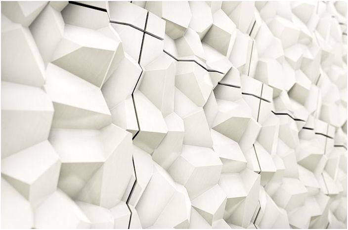 Обемни плочки от Cristina Vezzini