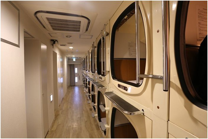 Capsulevalue Kanda е хотел с капсули в Япония.