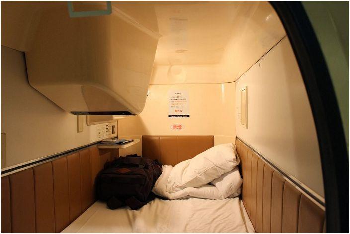 Капсулна стая в Capsulevalue Kanda.