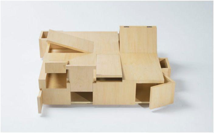 Praca projektantów Naoki Hirakoso i Takamitsu Kitahara