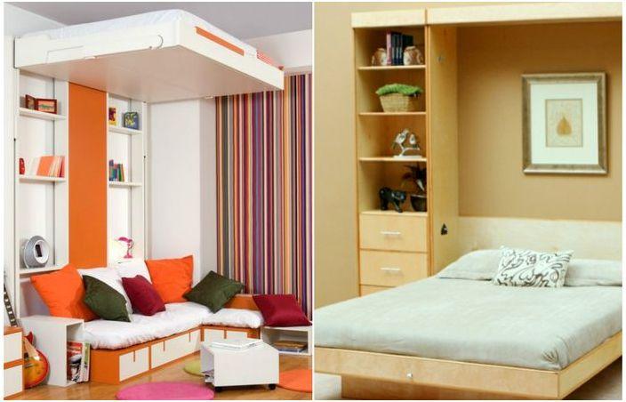 Oszczędzające miejsce łóżka