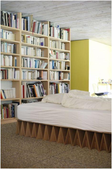 Łóżko kartonowe