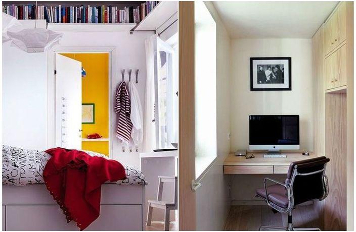 Наистина готини идеи за малки пространства