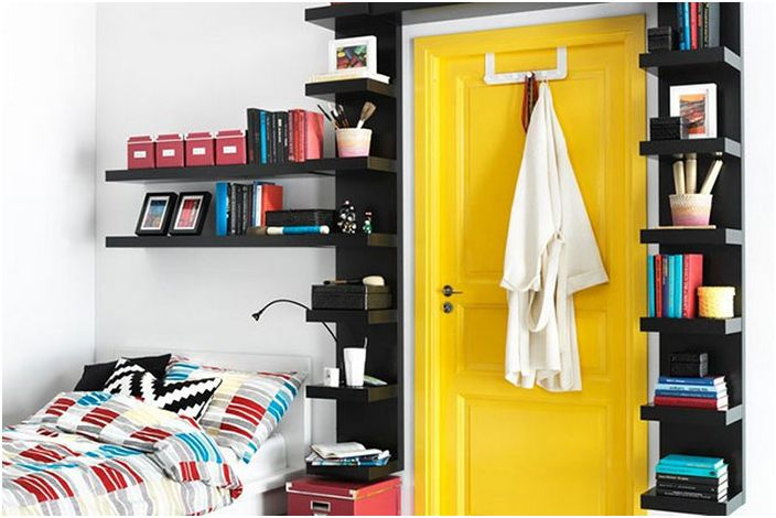 Използвайте пространството близо до вратата
