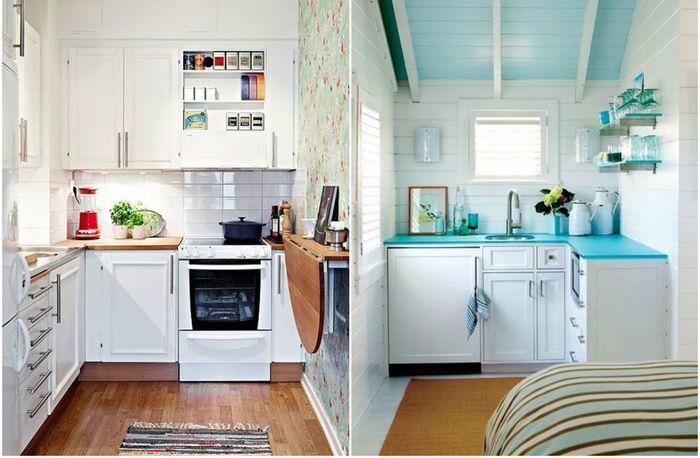 Upeita ideoita pieneen keittiöön