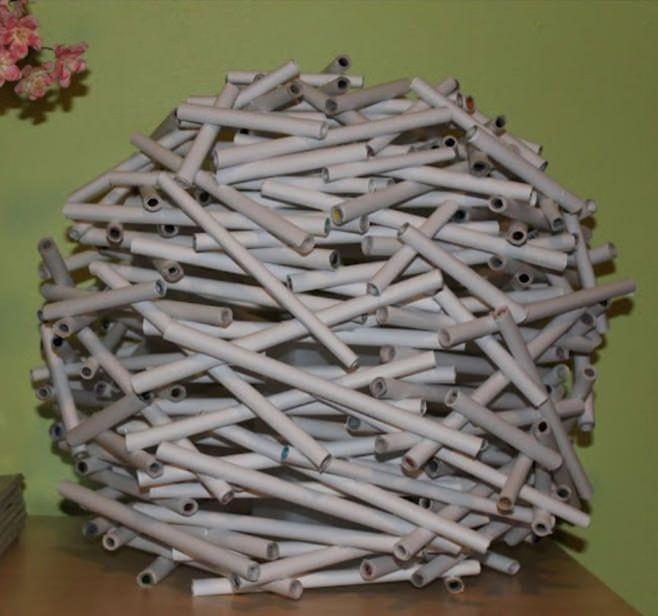 хартиена абажур