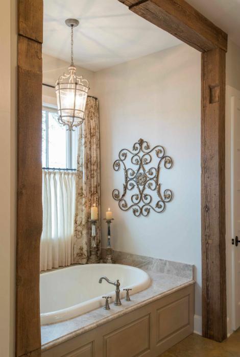 Ванна комната во французском стиле.