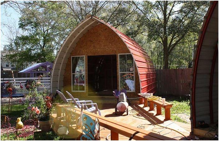 Аркерана къща от Arched Cabins.