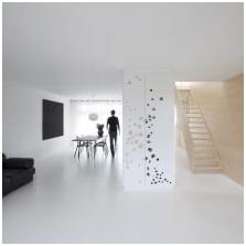 Бял под в интериорен дизайн-8