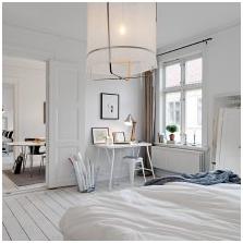 Бял под в интериорен дизайн-12
