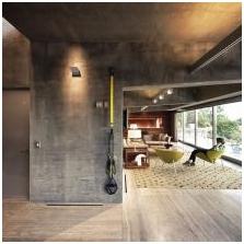 Wnętrze betonowe: cechy, zdjęcie-1