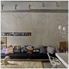 Wnętrze betonowe: cechy, zdjęcie-3