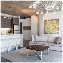 Wnętrze betonowe: cechy, zdjęcie-7