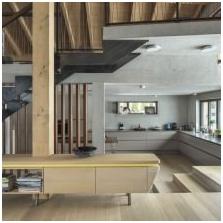 Wnętrze betonowe: cechy, zdjęcie-8
