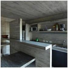 Wnętrze betonowe: cechy, foto-9