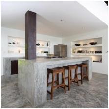 Wnętrze betonowe: cechy, foto-10