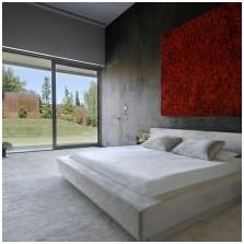 Wnętrze betonowe: cechy, foto-13