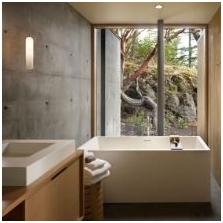 Wnętrze betonowe: cechy, foto-18