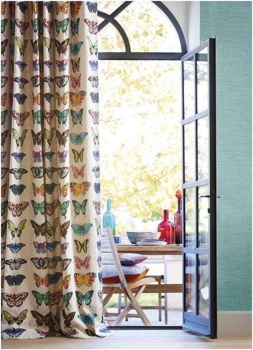 Стилни пролетни завеси