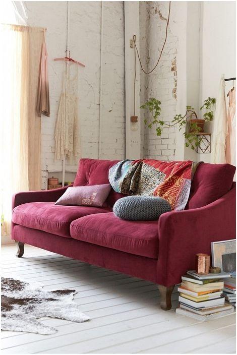 Прекрасен цвят бордо може да направи цяла стая красива и стилна.