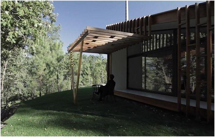 Gomos System е къща, която може да бъде построена за 3 дни.