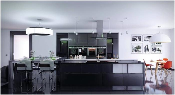 под в кухненския дизайн