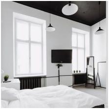 Черен таван в интериора-4