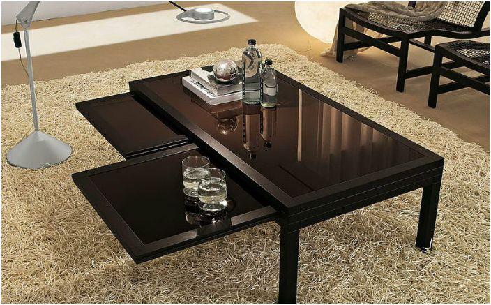 Funkcjonalny stolik kawowy