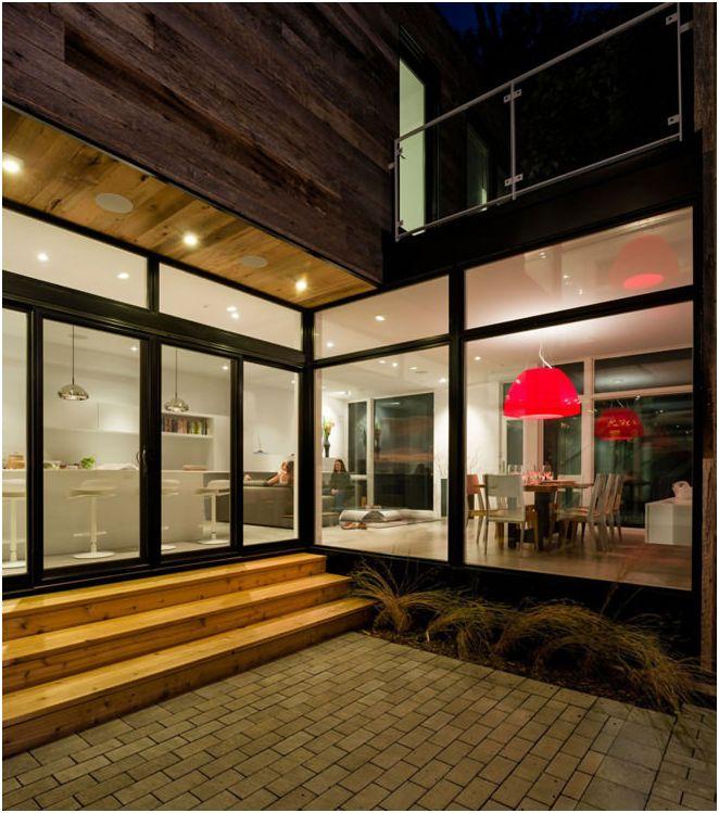 Design moderne d'une maison privée.