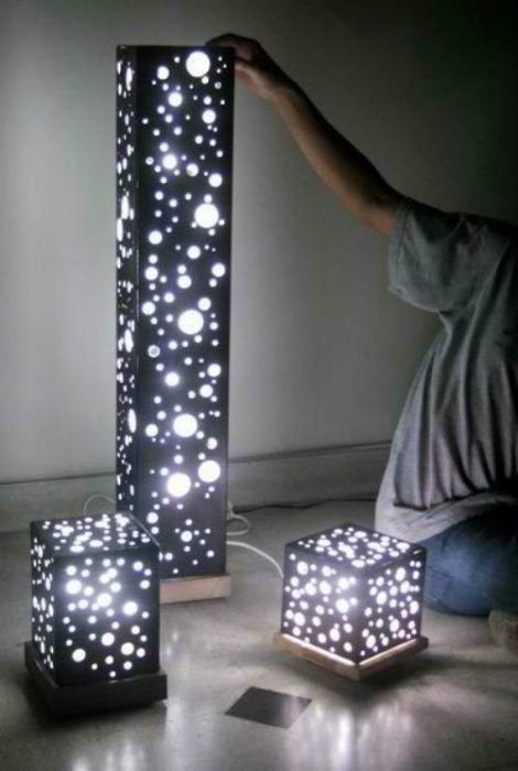 Дизайнерска лампа.