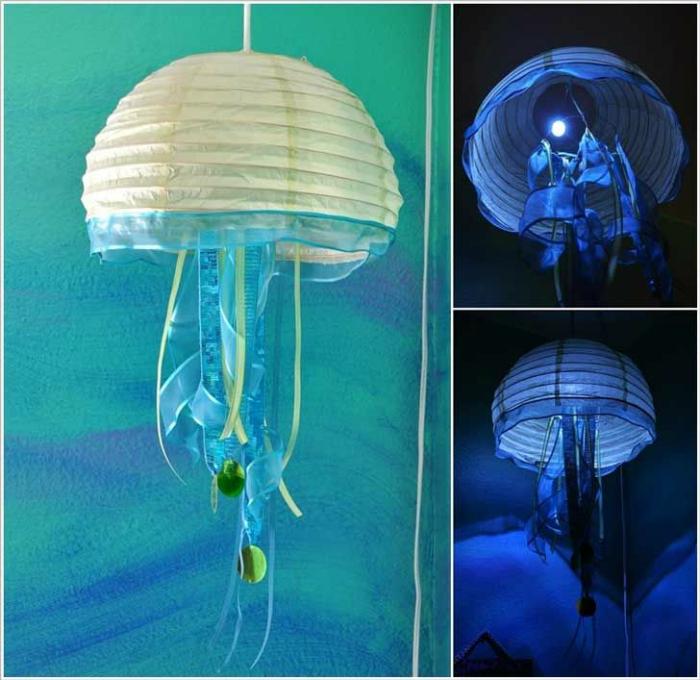 Плафон във формата на медуза.