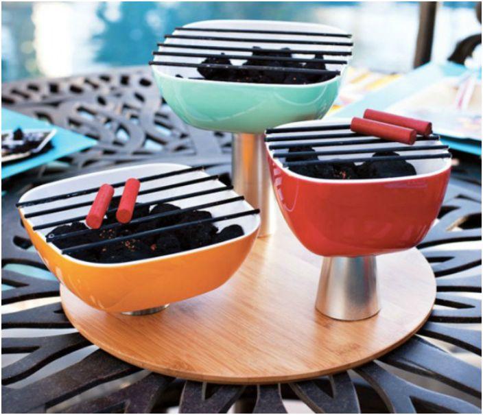 DIY mini grill.