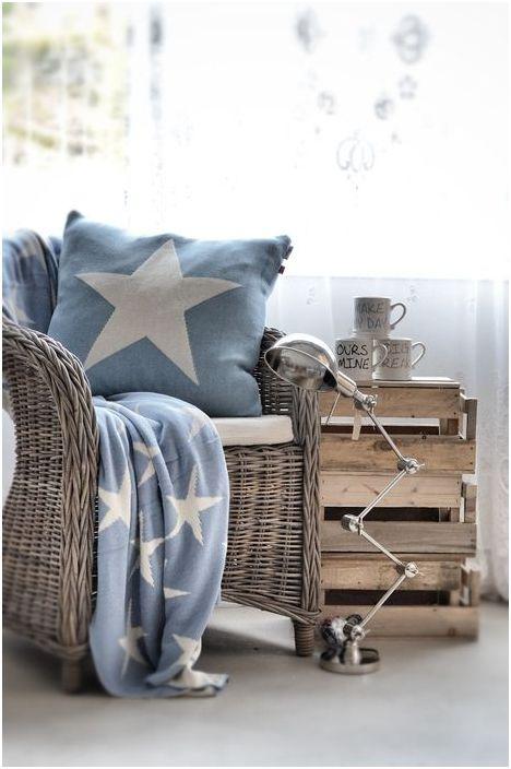 Плетёное кресло