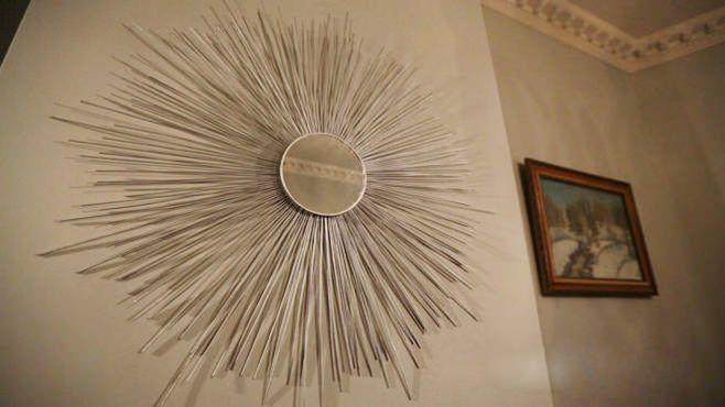 огледална украса