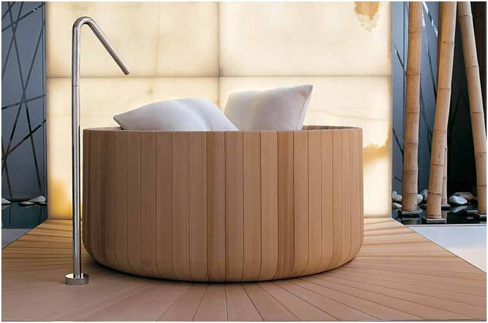 Пунтааква канадска вана с кедър