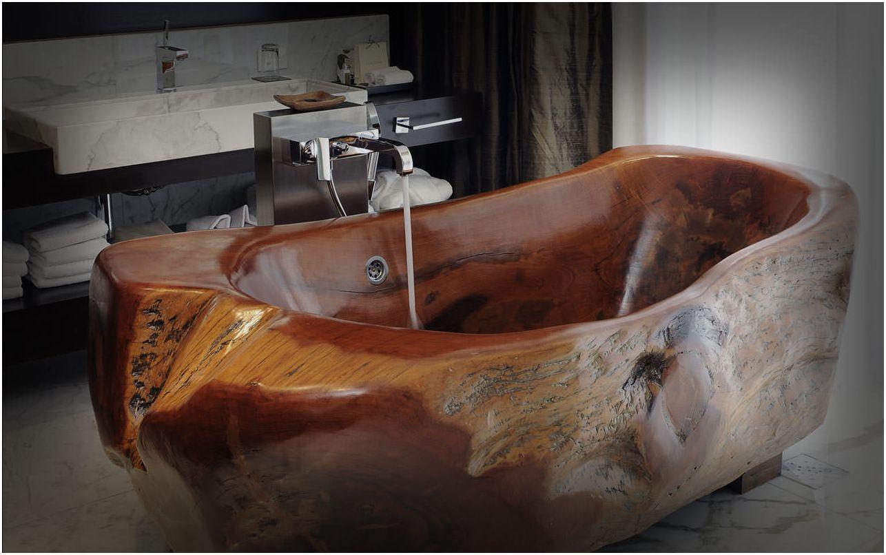 дървена вана