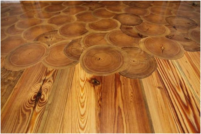 разфасовки в интериора на пода