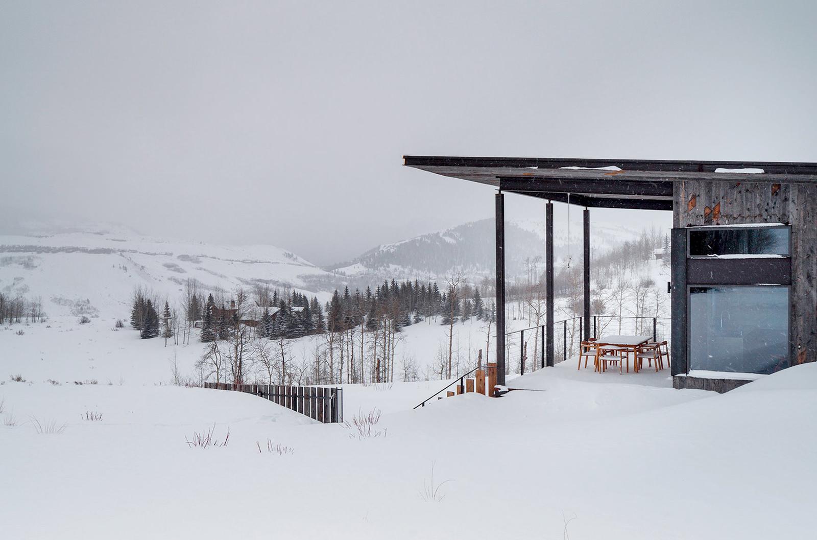 prywatny dom w górach