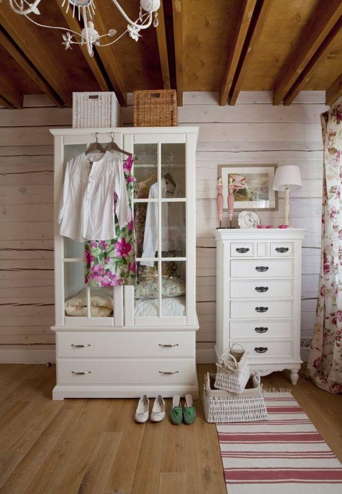 Husets interiør i Provence-stil